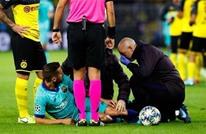 برشلونة يُعلن إصابة ألبا أمام دورتموند