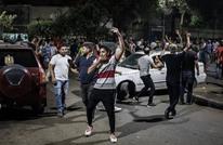 """معاق مصري يلهب حماس المتظاهرين.. """"أيقونة جديدة"""" (فيديو)"""