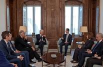 الأسد يستقبل وفدا إيطاليا وينتقد الموقف الأوروبي