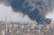 """تجدد غارات نظام الأسد في """"معرة النعمان"""" بعد يومين من التهدئة"""