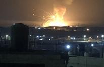 انفجار ضخم يهز مدينة الزرقاء الأردنية (شاهد)