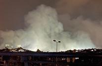 تصاعد الدخان من مرفأ بيروت ومخاوف من حريق جديد (شاهد)