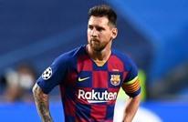 """ميسي متهم بـ""""الإساءة"""" خلال مباراة برشلونة وخيمناستيك"""