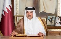 أمير قطر: أي ترتيب لا يستند للشرعية الدولية لن يحقق السلام