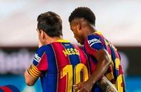 """برشلونة يدك شباك فياريال برباعية في """"الليغا"""""""