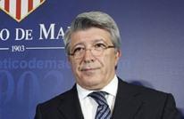 بعد ضم سواريز.. رئيس أتلتيكو مدريد يثير الجدل بسبب ميسي