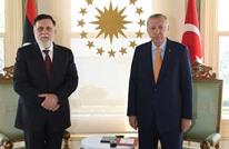السراج يلتقي أردوغان ويبحث معه ملف الإدارة الجديدة لليبيا