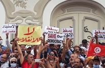 الآلاف في تونس يهتفون ضد انقلاب سعيّد (شاهد)