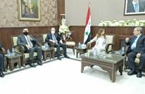 وفد وزاري لبناني بدمشق لبحث استجرار الغاز المصري عبر سوريا
