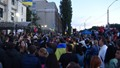 أوكرانيون يحتجون أمام السفارة الروسية - أوكرانيون يحتجون أمام السفارة الروسية (5)