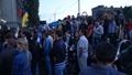 أوكرانيون يحتجون أمام السفارة الروسية - أوكرانيون يحتجون أمام السفارة الروسية (7)